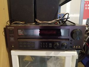 Kenwood Stereo Receiver with Klipsch Speakers for Sale in Denver, CO