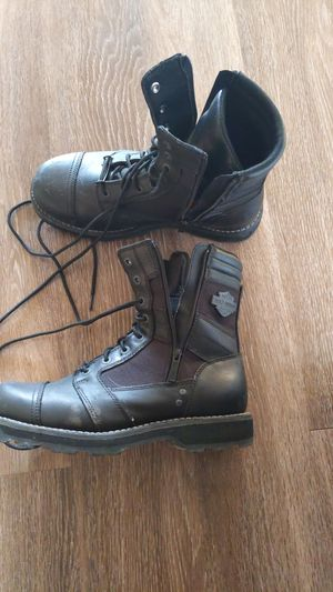 Mens Harley Davidson Motorcycle Boots for Sale in Arlington, VA