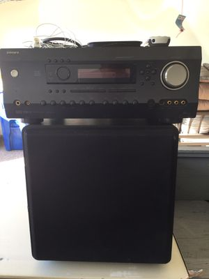 Integra receiver with Episode subwoofer for Sale in Mesa, AZ