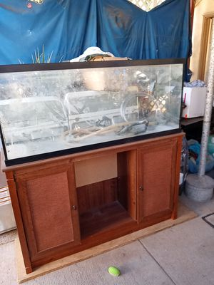 Fish tank and stand for Sale in Sacramento, CA