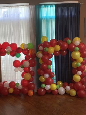 Number balloon garland for Sale in Lawrenceville, GA