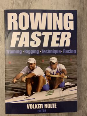 Rowing Faster book for Sale in Selma, CA