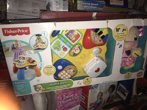 Fisher-Price Laugh and Learn Puppy and Friends Learning Table with Love to Play Sis: for Sale in Columbus, OH