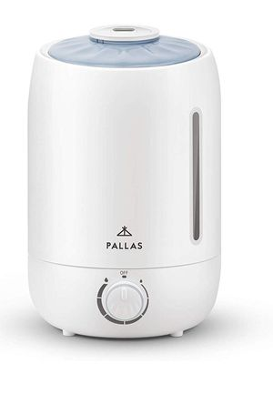 Pallas 2019 Humidifier - 5L Cool Mist Ultrasonic Humidifier for Bedroom, Baby, Home, Vaporizer for Large Room with Adjustable Mist Knob 360 for Sale in Bakersfield, CA