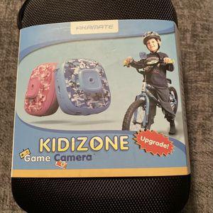 Akamate Kidsizone Go Pro Camera-blue Camo for Sale in Gilbert, SC