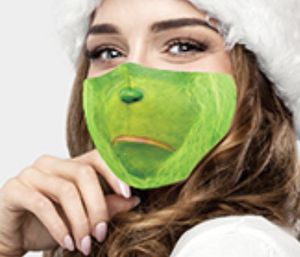 Grinch mask for Sale in Parkville, MD