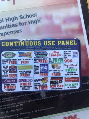 COUPON can use as many times as you want for Sale in Los Angeles, CA