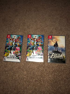 Nintendo switch games for Sale in Indianapolis, IN