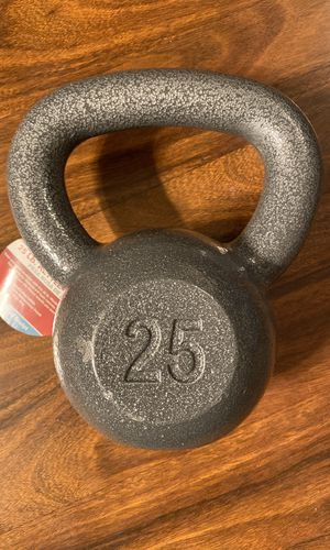 Weights 25lb kettlebell NEW for Sale in Tulare, CA