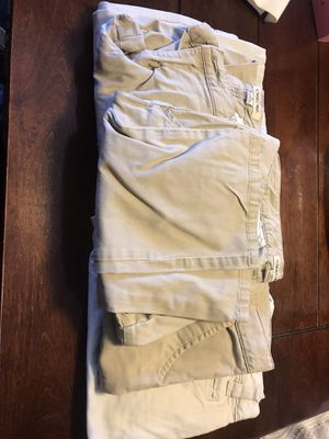 Free 5 uniform pants size 14 for Sale in Stockton, CA