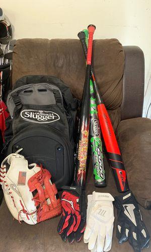 Slow-pitch softball bats. Worth, Miken, Easton, Louisville slugger for Sale in Manteca, CA