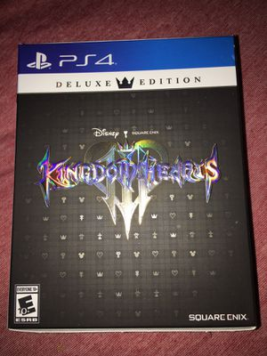 Kingdom hearts 3 deluxe edition for Sale in Winter Springs, FL