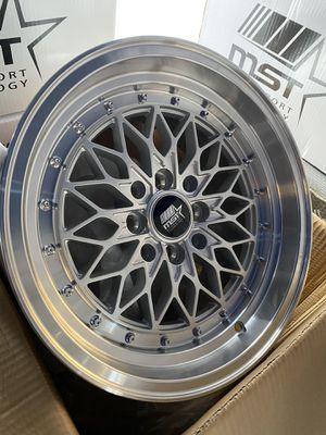 "New 15"" mst rims for Sale in Bell, CA"