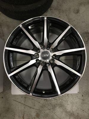 "Brand New 18"" Inch Diablo D18 18X7.5 Black Machined Wheels Rims Rines 5X110 5X4.33 5X114.3 5X4.5 for Sale in Austin, TX"