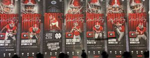 Pair of Lower Level #3 Ranked UGA Football Season Tickets - $1850 (Sandy Springs) for Sale in Atlanta, GA