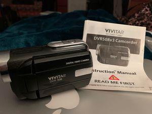 Vivitar DVR508v3 Camcorder for Sale in Oak Forest, IL