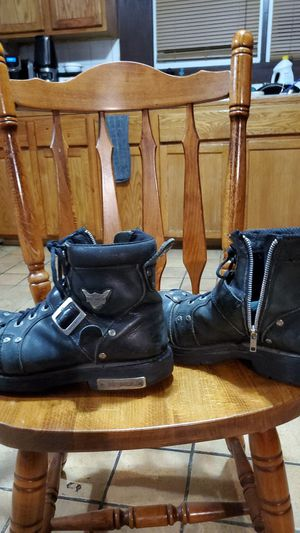 HARLEY DAVIDSON sz. 10 -1/2 steeltoe boots for Sale in Saint Joseph, MO