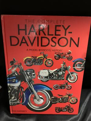 The complete Harley Davidson a model by model history book for Sale in Toledo, OH