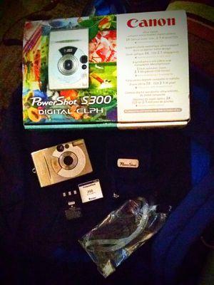 Canon PowerShot S300 2MP Digital ELPH Camera w/3x Optical Zoom for Sale in Burbank, CA