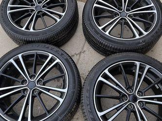 """4 Rines 17"""" Llantas Goodyeard Están Como Nuevas 215 45R17"""" Para Toyota Corolla Sciont Subaru Y Otros Más for Sale in Bakersfield,  CA"""