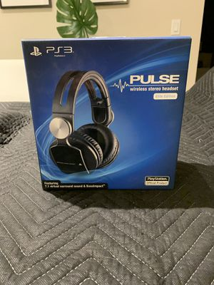 PS3 pulse wireless headphones Sony for Sale in undefined