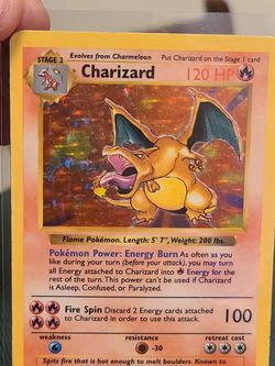 Pokemon Base Set *Shadowless* Charizard for Sale in Rescue,  CA