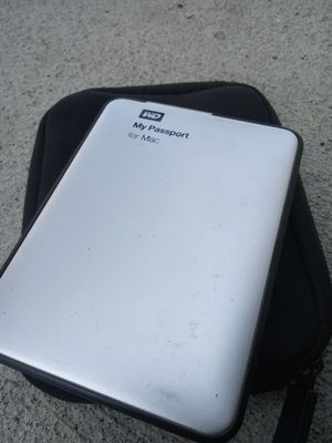 WD My Passport for Mac 1 TB external hard drive for Sale in Oakland, CA