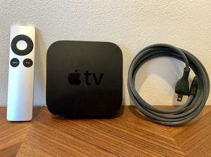 Apple TV 3rd Generation, 1080p Media Streamer, Original Remote, A1469,Excellent! for Sale in San Diego, CA