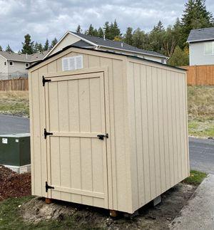 6x8 Garden Gable Storage Shed w/warranty for Sale in Tacoma, WA