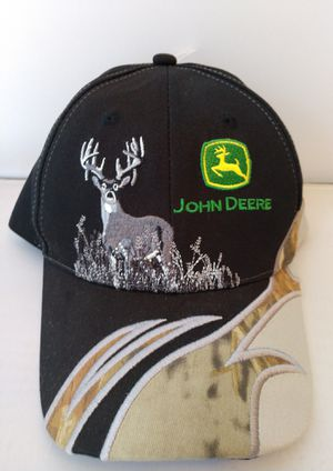 John Deere White tail Hunting hat for Sale in Newport News, VA
