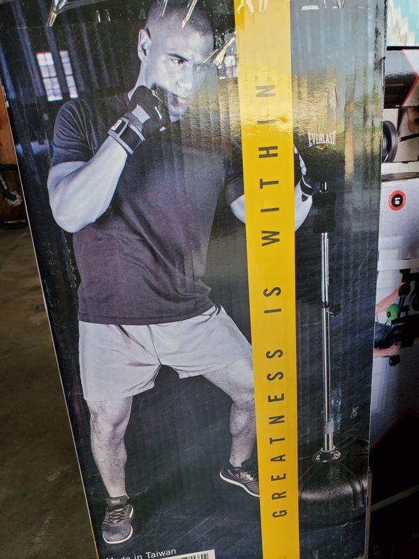 Reflex speed heavy boxing bag everlast everflex