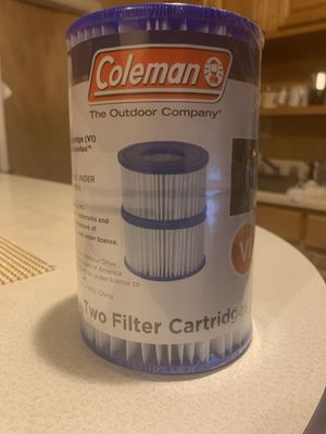 TWO (2) COLEMAN SPA HOT TUB Filter Pump Replacement Bestway Type VI 90424E for Sale in Paterson, NJ