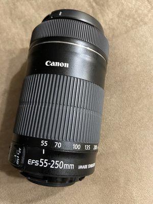 Canon 55-250 STM EFS Lens for Sale in Tucson, AZ