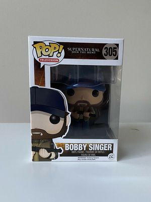 Funko POP! Television Supernatural Bobby Singer #305 (Very Rare) for Sale in Albuquerque, NM