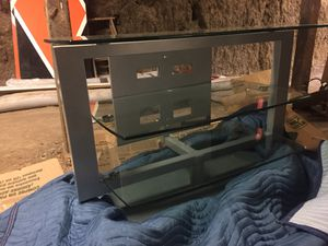 Modern glass TV stand for Sale in Mountain View, CA
