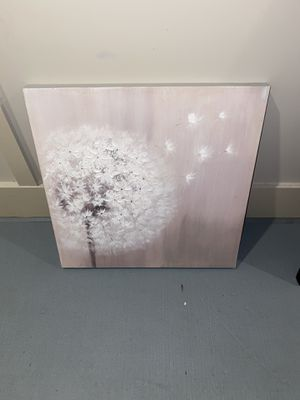 Pink and white painting for Sale in Jacksonville, FL