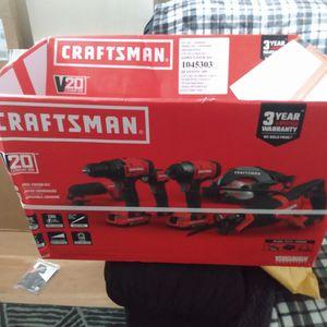 Craftsman 6 Pc 20v Set **New** for Sale in Philadelphia, PA