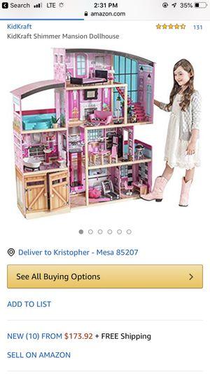 Kid kraft shimmer mansion for Sale in Payson, AZ