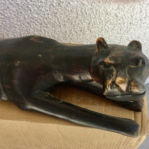 African Panther Statuette for Sale in Los Angeles, CA