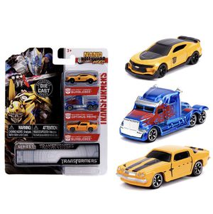 Jada Toys Nano Hollywood Rides Transformers 3pk Die Cast Vehicles for Sale in Fullerton, CA