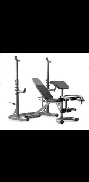 Weight rack and Bench for Sale in Los Angeles, CA