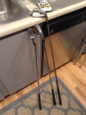 *LOW PRICE MOVING* 2 GOLF CLUBS + PUTTER for Sale in Seattle, WA