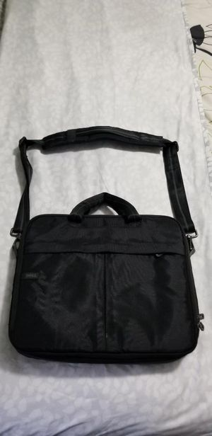 Genuine Dell Classic Black Nylon Laptop Briefcase Carrying Case for Sale in Hialeah Gardens, FL
