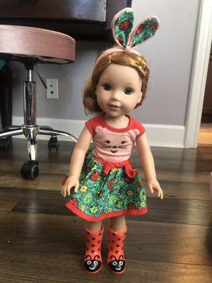 American girl doll Welli Wisher Willa, 14 inch doll for Sale in San Juan Capistrano, CA