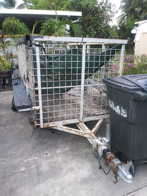 Trailer 2 new wheels be here on 15th for Sale in Lake Worth, FL