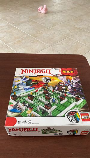 Lego Ninjago the board game 3856 for Sale in Delray Beach, FL