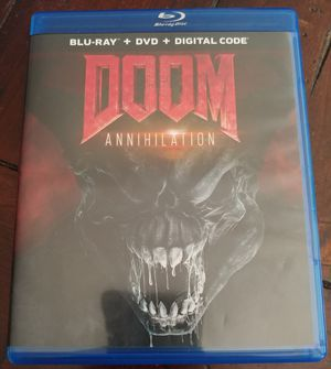 DOOM ANNIHILATION (BLU RAY + DVD) for Sale in El Cajon, CA