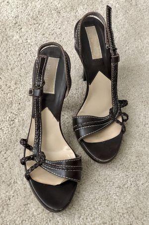Michael Kors brown heels - size 8 1/2 for Sale in Temecula, CA