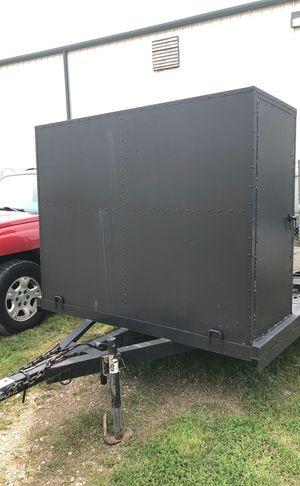 22 foot car hauler w/box *best offer* for Sale in Mesquite, TX