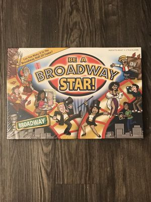 New - Be a Broadway Star! Board Game for Sale in Dallas, TX